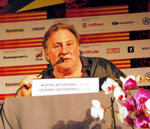 Жерар Депардье (Gerard Depardieu) / © Ekaterina Bykova / Shutterstock.com