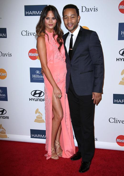 Модель Крисси Тейген (Chrissie Teigen) и певец Джон Ледженд (John Legend) / © s_bukley / Shutterstock.com