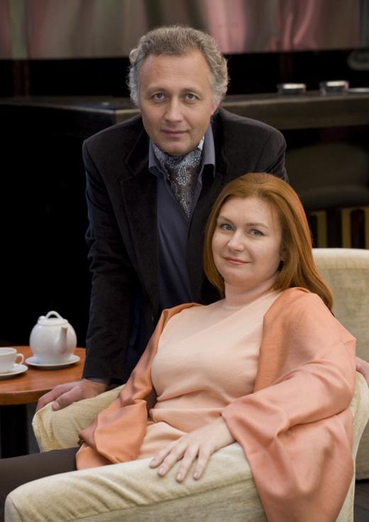 Юрий Оборин и Гелена Савицкая / © Muzchart.ru