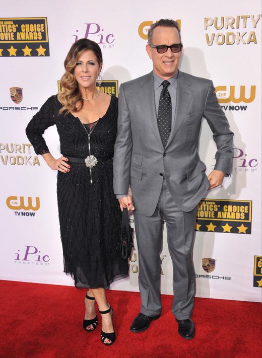 Рита Уилсон (Rita Wilson) и Том Хэнкс (Tom Hanks) / © Jaguar PS / Shutterstock.com