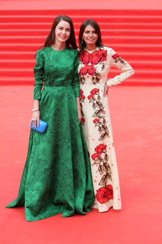 Алена Ахмадуллина и Анна Брострем / © Пресс-служба Московского Международного Кинофестиваля