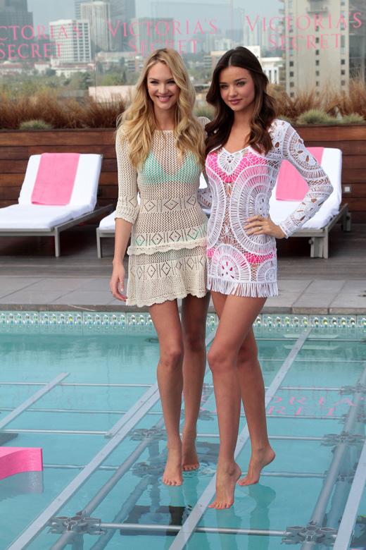 Кэндис Свейнпол (Candice Swanepoel) и Миранда Керр (Miranda Kerr) / © s_bukley / Shutterstock.com