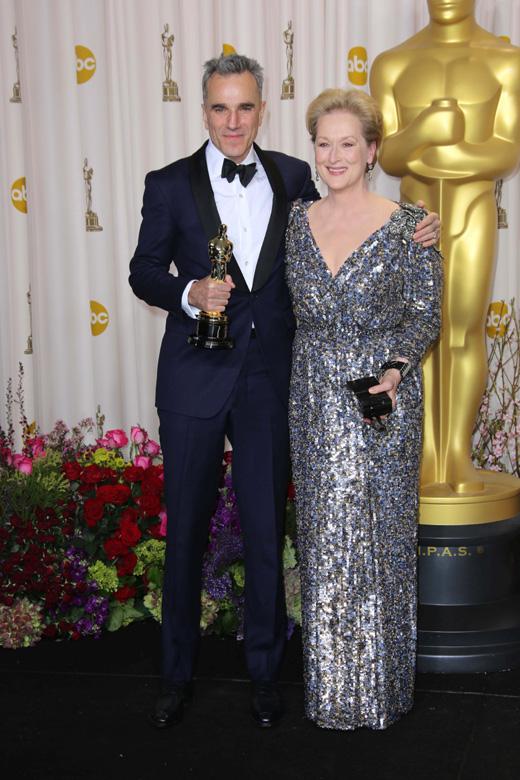 Дэниел Дэй-Льюиса (Daniel Day-Lewis) и Мерил Стрип (Meryl Streep) / © s_bukley / Shutterstock.com