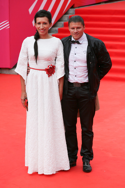 Елена Борщева с супругом / © Пресс-служба Московского Международного Кинофестиваля