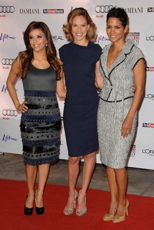 Ева Лонгория (Eva Longoria), Хилари Суонк (Hilary Swank) и Хэлли Берри (Halle Berry) / © Everett Collection / Shutterstock.com