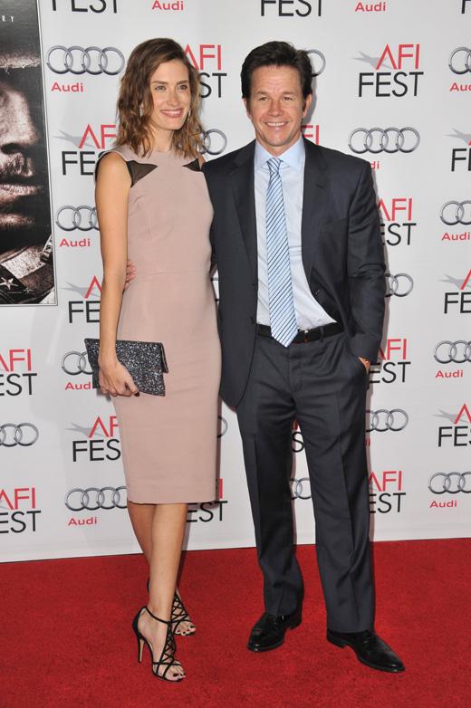Марк Уолберг (Mark Wahlberg) и его жена Риа Дюрэм (Rhea Durham) / © Jaguar PS / Shutterstock.com