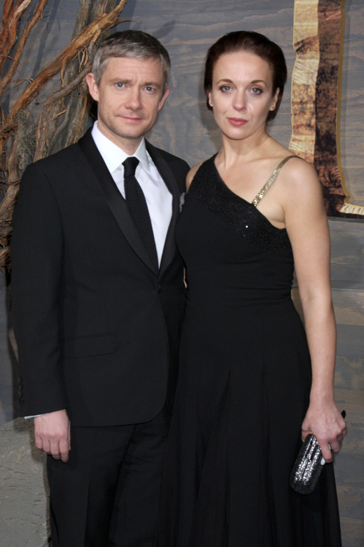 Мартин Фриман (Martin Freeman) и Аманда Эббингтон (Amanda Abbington) / © Depositphotos.com / Jean_Nelson