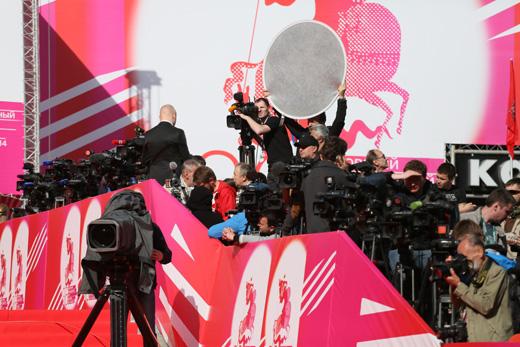 Подготовка к церемонии открытия ММКФ / © Пресс-служба Московского  Международного Кинофестиваля
