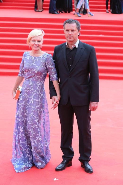 Алена Бабенко с супругом / © Пресс-служба Московского Международного Кинофестиваля