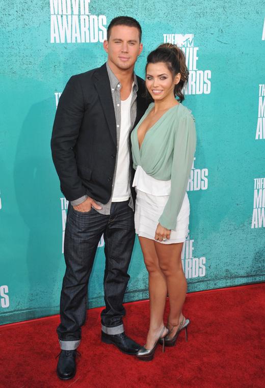 Ченнинг Татум (Channing Tatum) с супругой Дженной Деван-Татум (Jenna Dewan-Tatum) / © Featureflash / Shutterstock.com