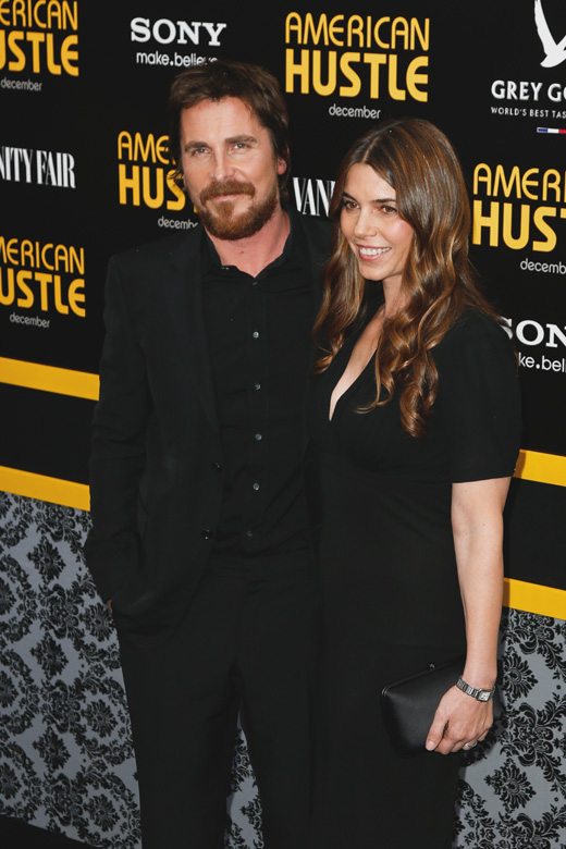 Кристиан Бейл (Christian Bale) с женой Сиби Блажич (Sibi Blazic) / © Debby Wong / Shutterstock.com
