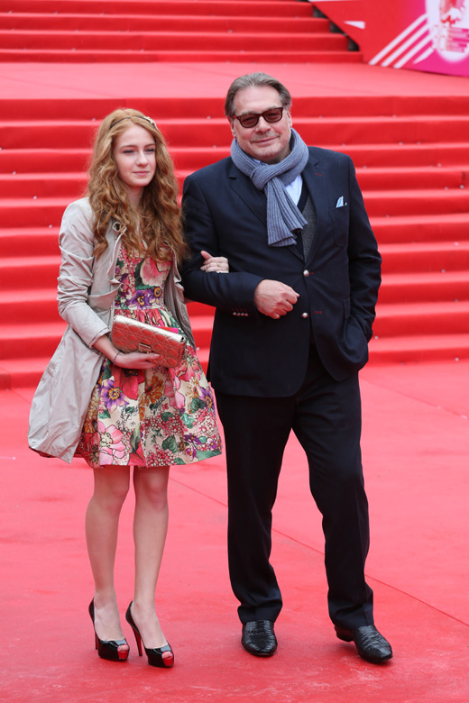 Игорь Янковский с дочерью / © Пресс-служба Московского Международного Кинофестиваля