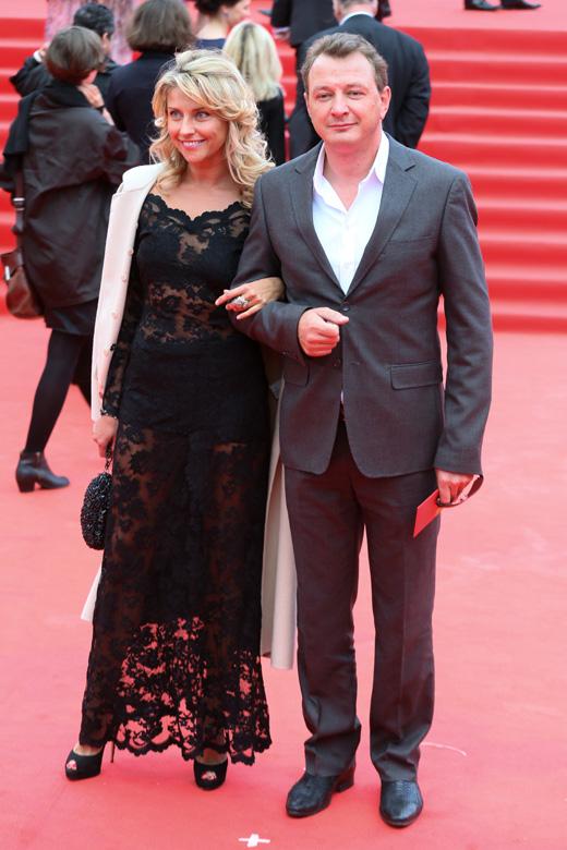 Марат Башаров и Екатерина Архарова / © Пресс-служба Московского Международного Кинофестиваля