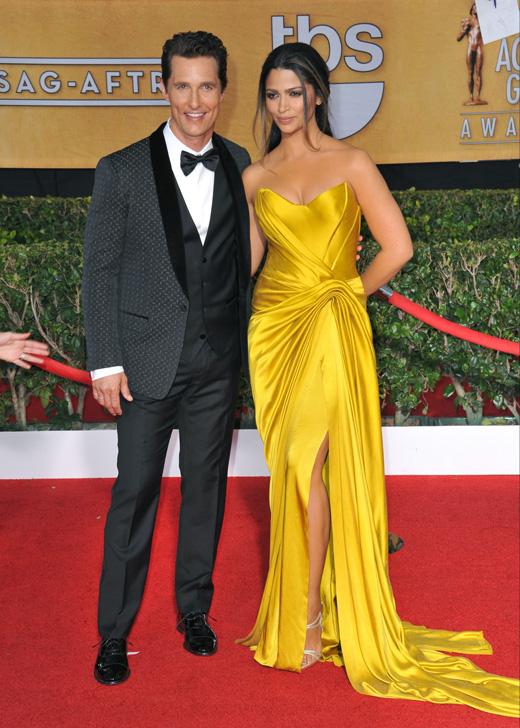 Мэттью Макконахи (Matthew McConaughey) с женой Камилой Алвес (Camila Alves) / © Jaguar PS / Shutterstock.com