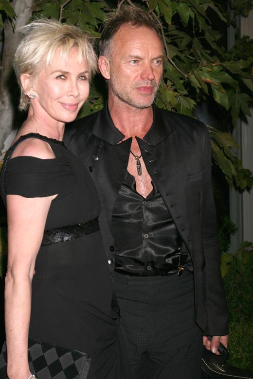 Стинг (Sting) с женой Труди Стайлер (Trudie Styler) / © Depositphotos.com / Jean_Nelson