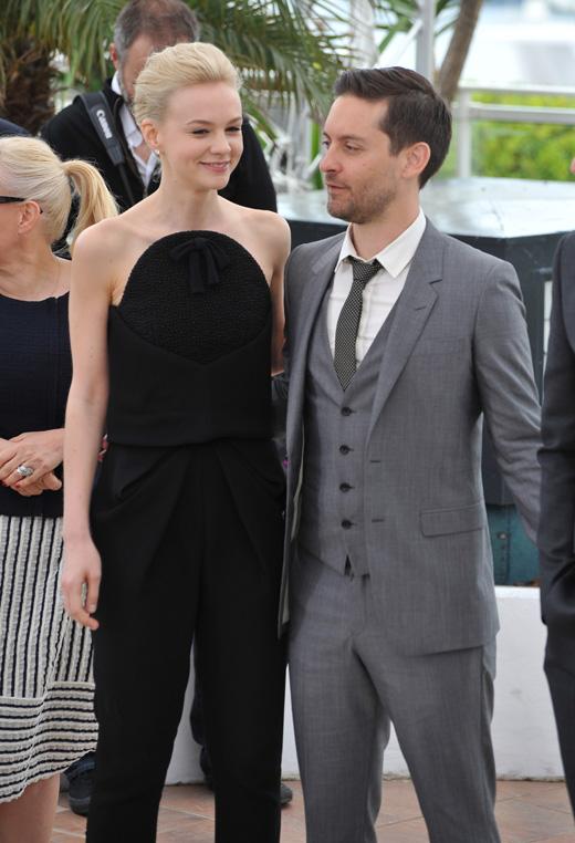 Кэри Маллиган (Carey Mulligan) и Тоби Магуайр (Tobey Maguire) / © Jaguar PS / Shutterstock.com