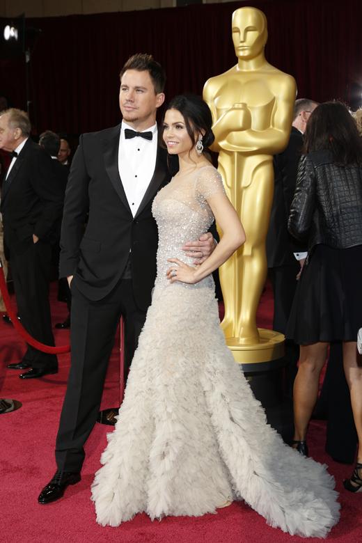 Ченнинг Татум (Channing Tatum) с супругой Дженной Деван-Татум (Jenna Dewan-Tatum) / © Joe Seer / Shutterstock.com