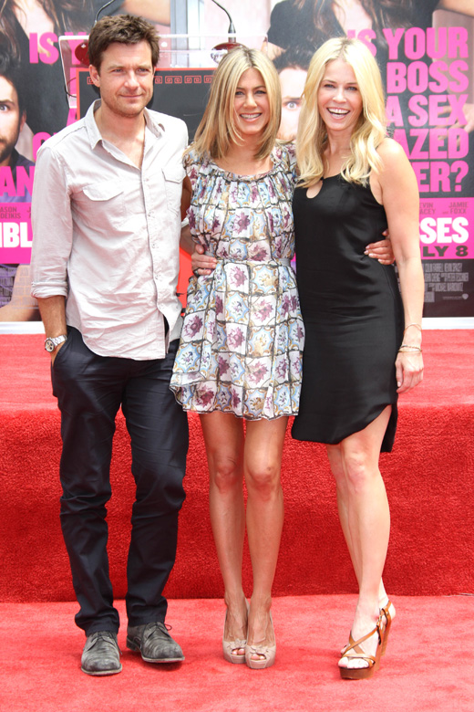 Джейсон Бейтман (Jason Bateman), Дженнифер Энистон (Jennifer Aniston), Челси Хэндлер (Chelsea Handler) / © Depositphotos.com / s_bukley
