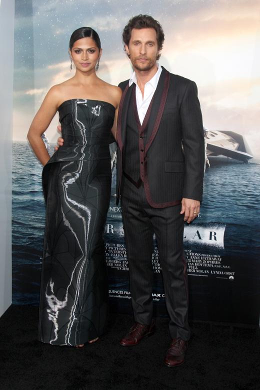 Камила Алвес (Camila Alves) и Мэттью Макконахи (Matthew McConaughey) / © Depositphotos.com / Jean_Nelson