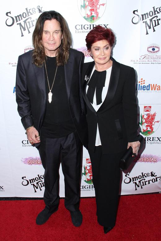 Оззи Осборн (Ozzy Osbourne) и Шэрон Осборн (Sharon Osbourne) / © Depositphotos.com / s_bukley