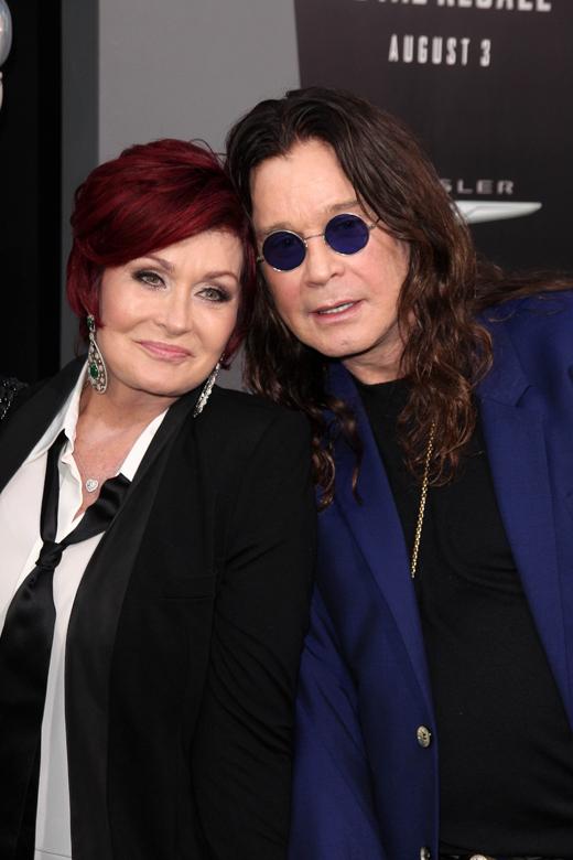 Шэрон Осборн (Sharon Osbourne) и Оззи Осборн (Ozzy Osbourne) / © Depositphotos.com / s_bukley