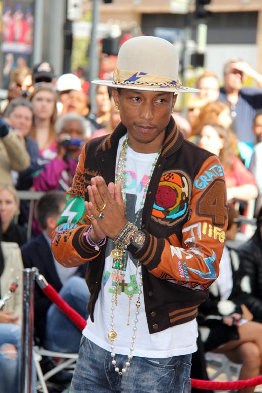 Фаррелл Уильямс (Pharrell Williams) / © Depositphotos.com / s_bukley