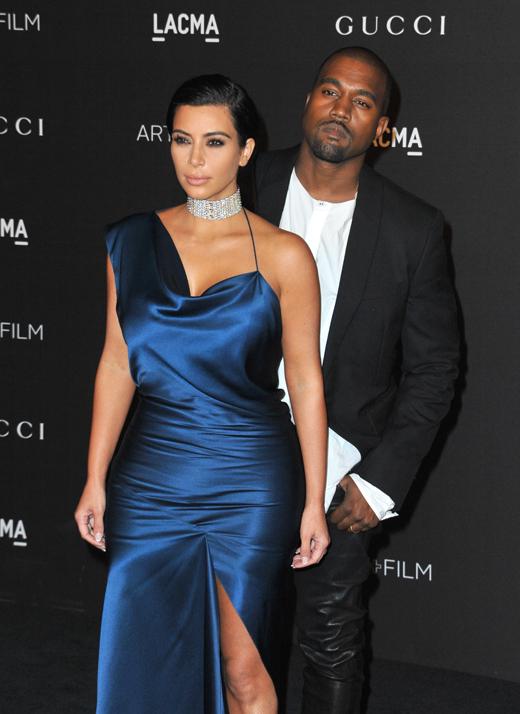 Ким Кардашян (Kim Kardashian) и Канье Уэст (Kanye West) / © Jaguar PS / Shutterstock.com