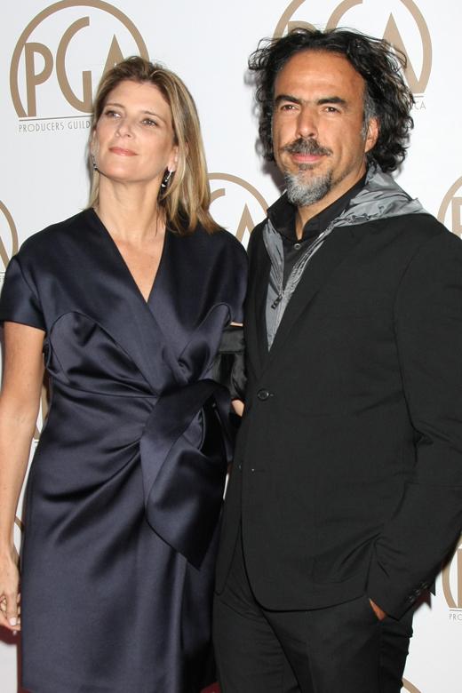 Алехандро Гонсалес Иньяритту (Alejandro Gonzalez Inarritu) с супругой / © Helga Esteb / Shutterstock.com