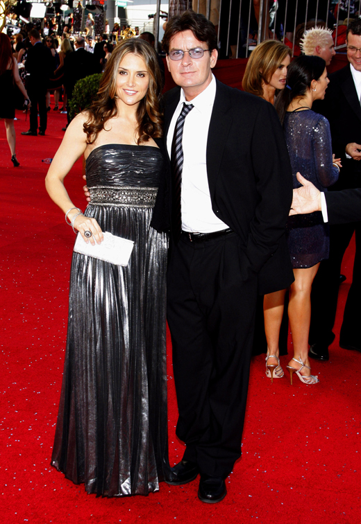 Брук Мюллер (Brooke Mueller) и Чарли Шин (Charlie Sheen) / © Tinseltown / Shutterstock.com