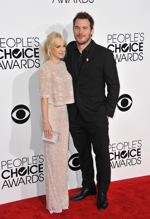 Анна Фэрис (Anna Faris) и Крис Пратт (Chris Pratt) / © Jaguar PS / Shutterstock.com