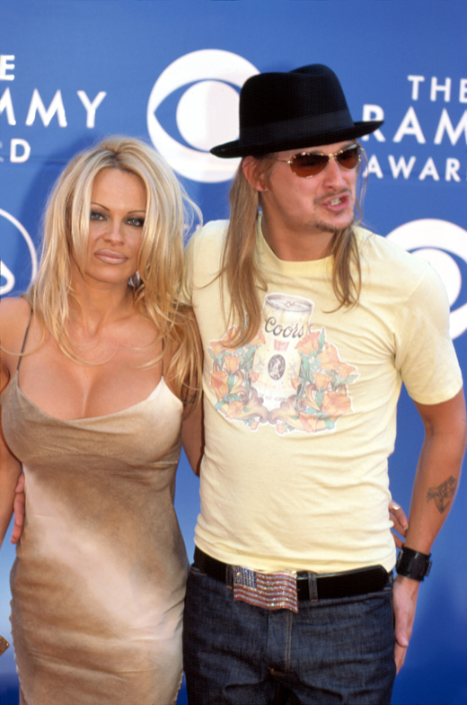 Памела Андерсон (Pamela Anderson) и Кид Рок (Kid Rock) / © Everett Collection / Shutterstock.com