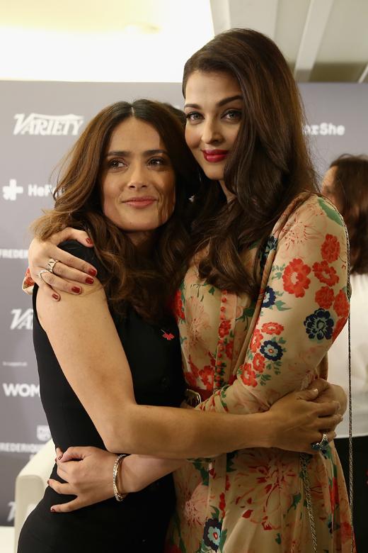 Сальма Хайек (Salma Hayek) и Айшвария Рай (Aishwarya Rai) / © Getty Images for Variety