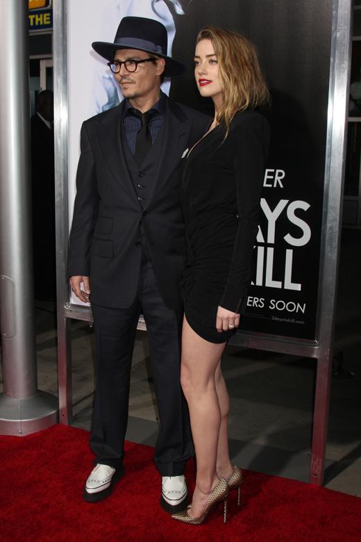 Джонни Депп (Johnny Depp) и Эмбер Херд (Amber Heard) / © Joe Seer / Shutterstock.com