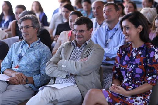 Рафаэль Бердюго, Паскаль Дио, Екатерина Мцитуридзе / © Пресс-служба артиста