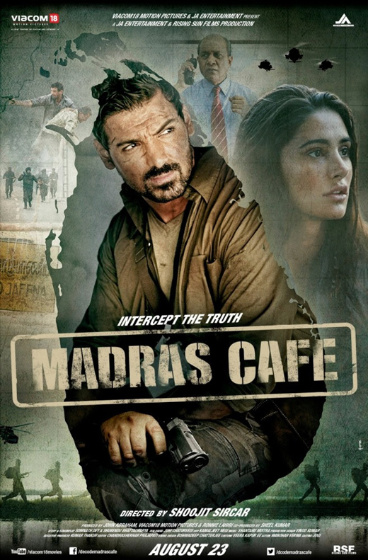 Афиша фильма «Кафе «Мадрас» / © Пресс-служба фестиваля