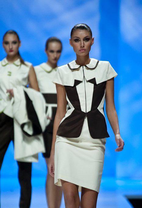 Модный показ в рамках вечеринки фонда «Русский силуэт» / © Пресс-служба артиста
