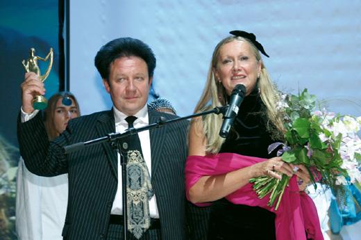 Александр Митрошенков и Татьяна Михалкова / © Пресс-служба артиста
