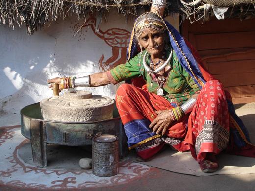 Женщина готовит домашний скраб / © FreeImages.com