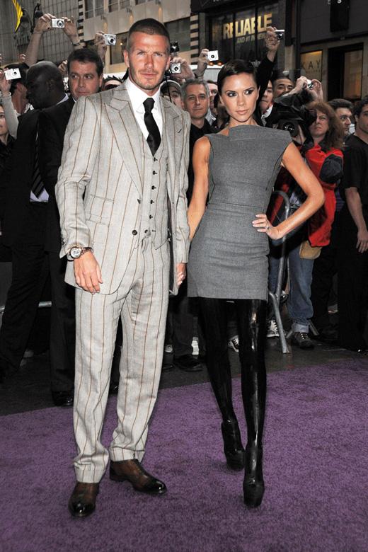 Дэвид Бекхэм (David Beckham) и Виктория Бекхэм (Victoria Beckham) / © Everett Collection / Shutterstock.com