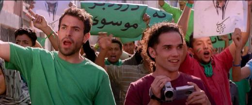 Том Каллен (Tom Cullen), Рис Ричи (Reece Ritchie), кадр из фильма «Танцующий в пустыне» (Desert Dancer) / © Пресс-служба артиста