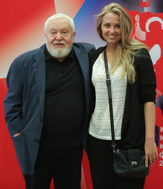 Сергей Соловьев и Аглая Шиловская / © Пресс-служба ММКФ