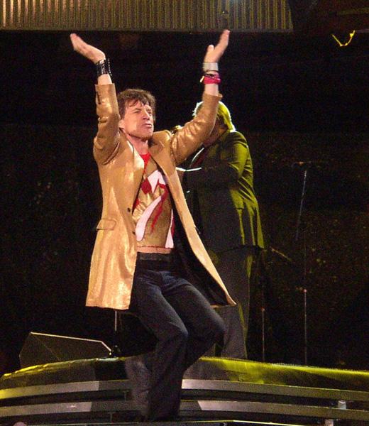 Мик Джаггер (Mick Jagger) на концерте группы «Роллинг Стоунз» (Rolling Stones) / © psloane / Pixabay.com