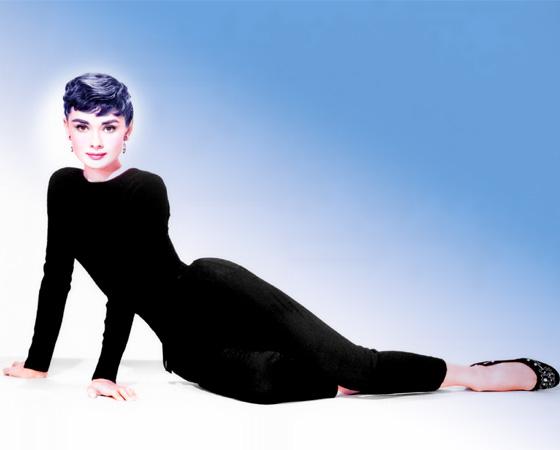 Одри Хепберн (Audrey Hepburn) в модной фотосессии