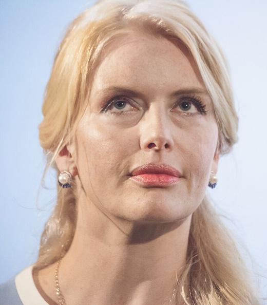 Анна Чурина на премьере фильма «Брут»