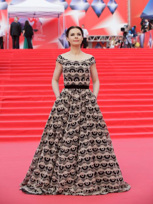 Ирина Лачина на Московском кинофестивале