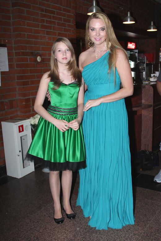 Певица Варвара и ее дочь