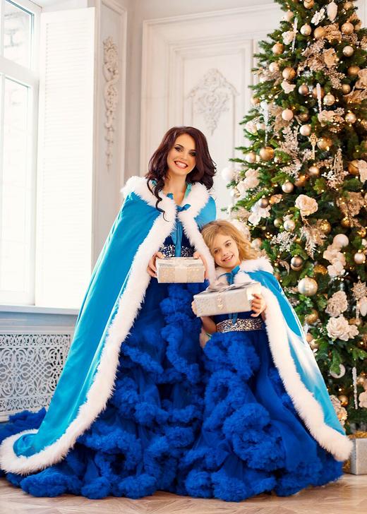 Анна Орис с дочерью Амелией