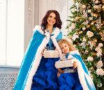 Актриса Анна Орис и ее дочь