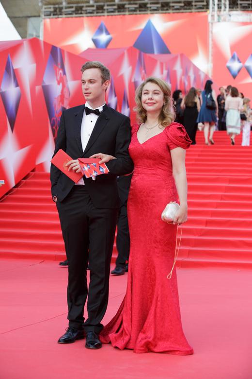 Божена Рынска на Московском кинофестивале