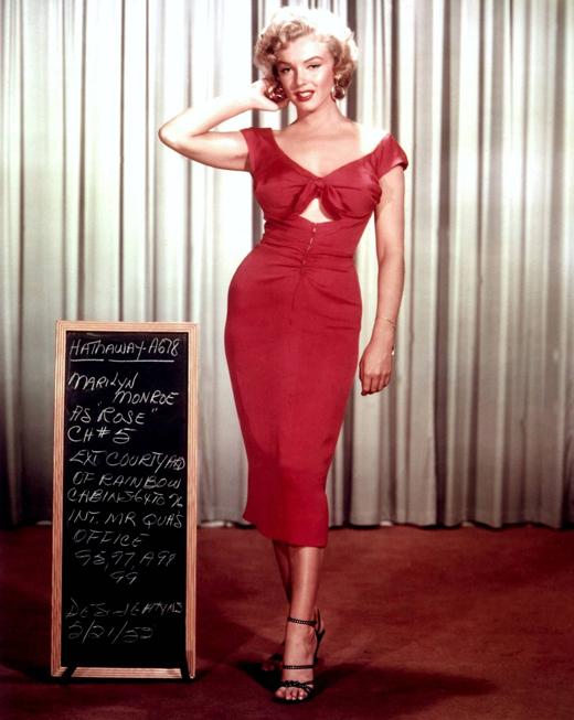 Актриса Мэрилин Монро (Marilyn Monroe).